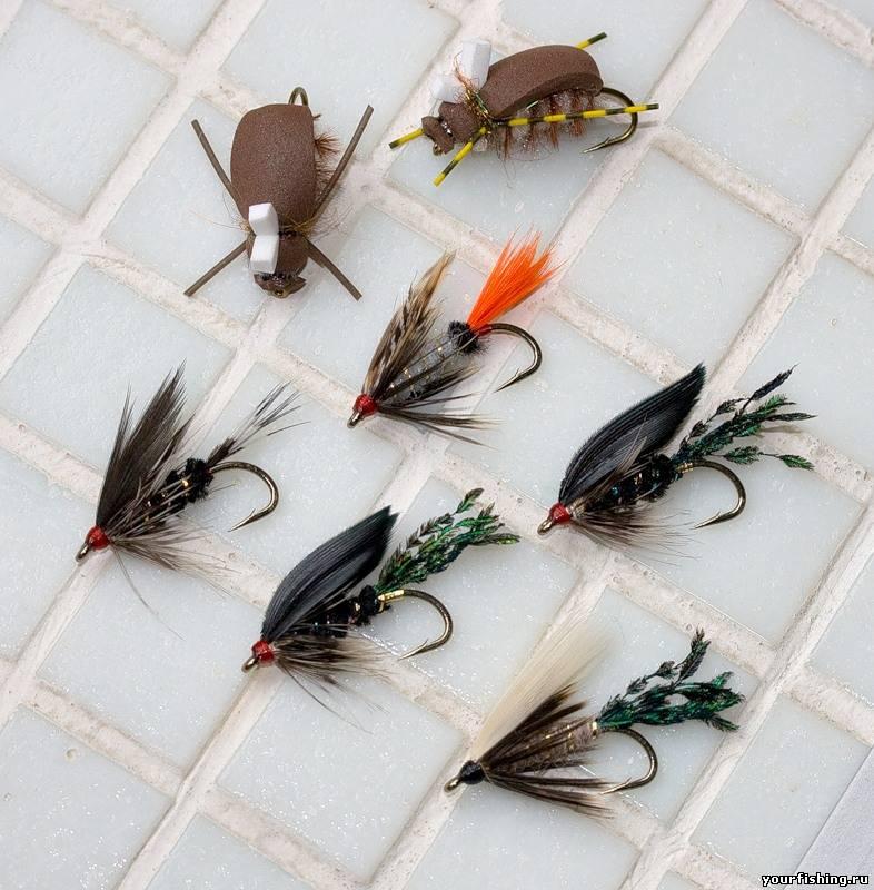 видео изготовление мушки на рыбалку